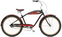 "26"" ELECTRA Mulholland 3i (Alloy) Men's black/red"