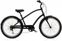 "26"" ELECTRA Townie Balloon 8D Men's matte black черный 2012"