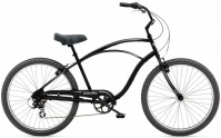 "26"" ELECTRA Cruiser 7D Men's black satin"