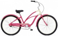 "26"" ELECTRA Cruiser Custom 3i Ladie stawberry/cream"